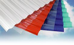 סנטף לוח פלסטי שקוף לפרגולה לוח גלי מפלסטיק עם הגנה נגד קרינת השמש